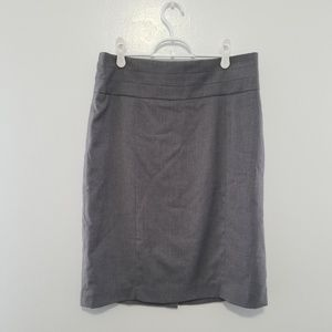H&M High Waisted Gray Pencil Skirt